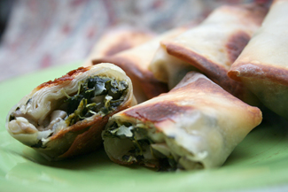 Greek Egg Rolls
