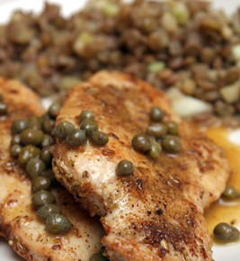 Fennel-Dusted Chicken With Brown Butter And Capers Recipes ...