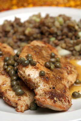Fennel-Dusted Chicken with Brown Butter and Capers and ...