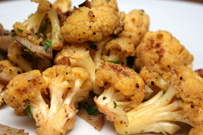 Potato and Kale Cakes with Rouille and Andrew Carmellini's Cauliflower ...