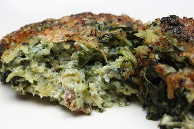 ... Casino, Fricassee of Chanterelles, and Zucchini and Spinach Gratin