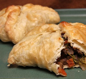 Moroccan Carrot and Lentil Pasties