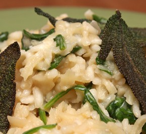 Parsnip, Sage and Mascarpone Risotto