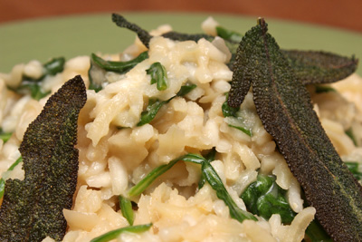 Parsnip, Sage and Mascarpone Risotto | Camille Cooks