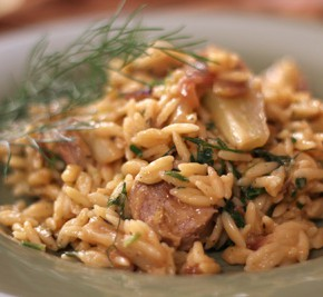 Sausage and Fennel Orzotto
