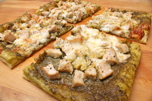 "and impressive, fun to make and fun to eat. The "" Pesto Chicken Tart ..."