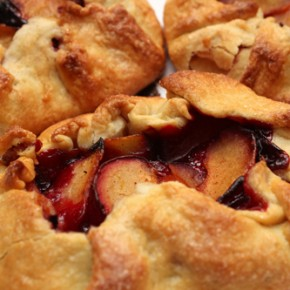 Summer Plum Crostata
