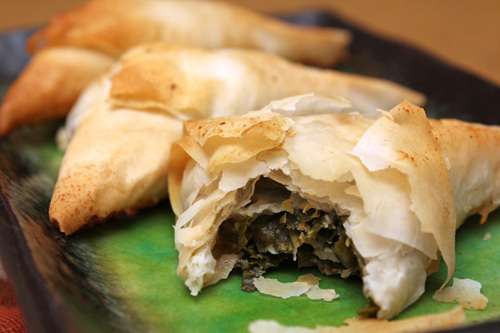 Spanakopita Triangles + Then Some Recipe — Dishmaps