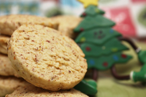 Orange-Hazelnut Olive Oil Cookies