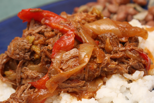 Cuban Braised Shredded Beef