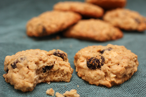 Cherry-White Chocolate Oatmeal Cookies; Coconut Macaroons | Camille ...