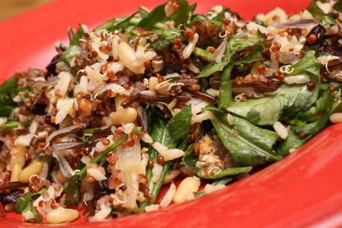 Rice Salad w/Nuts and Sour Cherries