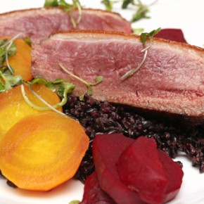 Wood-Grilled Duck Breast