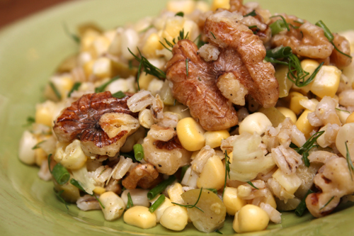 Corn-and-Barley Salad