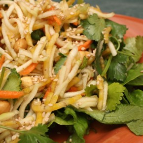 Vietnamese Green Papaya and Beet Salad