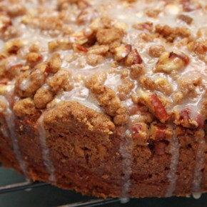 Browned Butter Hummingbird Coffee Cake