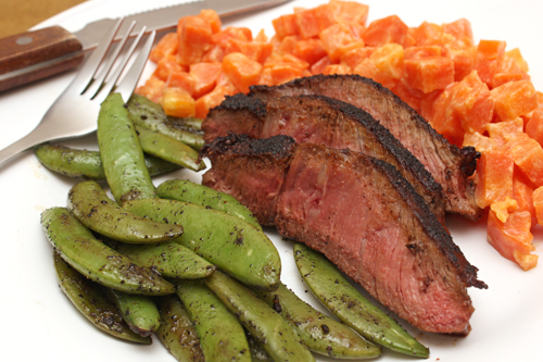 Spiced & Seared Flank Steak