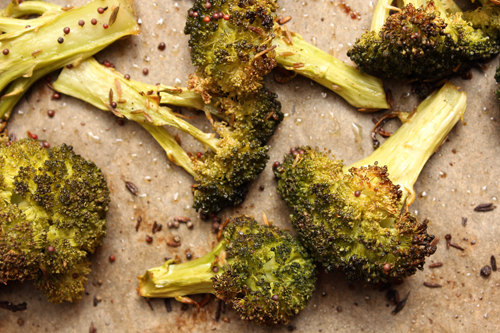 Quick-Roasted Broccoli