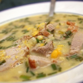 Pork and Sweetcorn Chowder