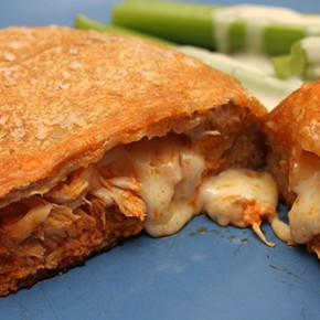 Buffalo Chicken Calzones