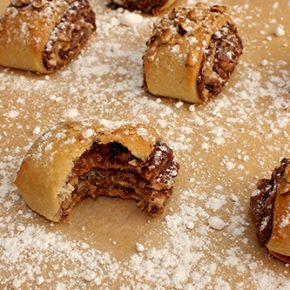 Nocciolata, Sesame, and Hazelnut Rolls