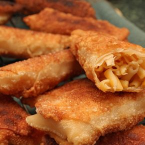 Mac and Cheese Egg Rolls