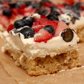 Mixed Berries & Cream Bars