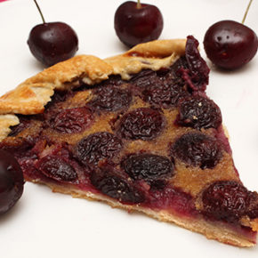 Cherry Galette with Almond Cream