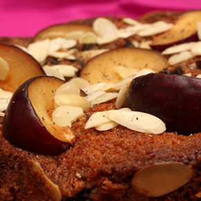 Plum and Black Pepper Cake #TheCakeSliceBakers