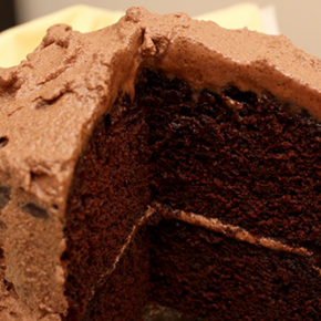 Mexican Chocolate Cake #TheCakeSliceBakers
